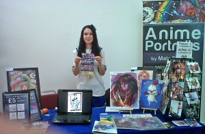 Anime Portraits by Mair Perkins at Aya Con 2012